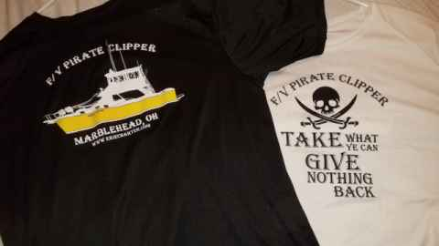 Pirate Clipper T-Shirts